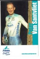 Fidea Cycling Team - Peter Van Santvliet - Sportifs