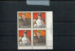 CANADA POSTFRIS MINT NEVER HINGED POSTFRISCH EINWANDFREI YVERT 739 740 - 1952-.... Règne D'Elizabeth II