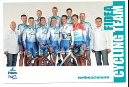 Fidea Cycling Team - Volledige Ploeg - Sportifs