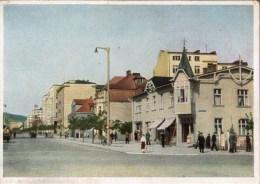! Ansichtskarte Aus Gdingen, Gdynia, Gotenhafen, Westpreußen, Polen, Poland, Pologne, Hermann Göring Straße - Westpreussen