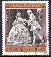 AUSTRIA 1969 Centenary Of State Opera, Vienna - 2s Der Rosenkavalier FU - 1945-.... 2nd Republic