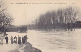 Saint Dizier,inondation 1910,le Chateau Renard - Saint Dizier