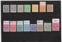 Alliierte Besetzung Bizone  ** 16-35  Katalog 55,00 - Bizone