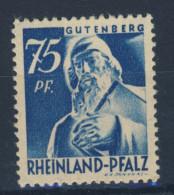 Rheinland Pfalz Nr. 13 v w ** postfrisch