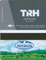 HOTE TRH Espa�a ( Baeza, Sevilla, etc), publicity milk reverse, llave clef card keycard karte