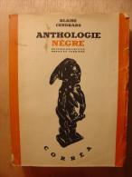 BLAISE CENDRARS - ANTHOLOGIE NEGRE - EDITION CORREA - 1947 - BE - Culture