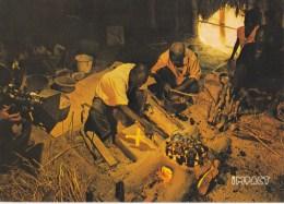 CPM Les Mangeurs De Cuivre, Fondeurs De Cuivre Traditionnels Kolwezi Shaba - Craft