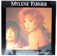 Disque Vinyle 33T MYLENE FARMER - AINSI SOIT JE... -  (2) POLYDOR 835564 1- 1988 - Autres - Musique Française