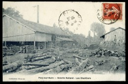 Cpa Du 27 -  Pacy Sur Eure -- Scierie Rolland - Les Chantiers   SEPT5 - Pacy-sur-Eure