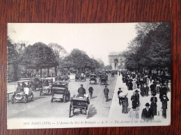 Paris Avenue Du Bois De Boulogne - France