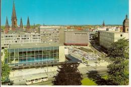 OLDENBURG ZENTRUM MIT SCHWIMMHALLE UND LAMBERTKIRCHE-autobus - Oldenburg