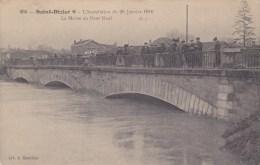 Saint Dizier;inondation 1910,la Marne Au Pont Neuf - Saint Dizier
