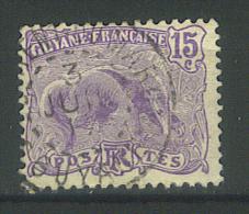 """VEND TIMBRE DE GUYANE N° 54 , CACHET """" ST-LAURENT DU MARONI """" !!!! - Französisch-Guayana (1886-1949)"""