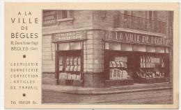 BEGLES . MAGASIN A LA VILLE DE BEGLES - France