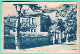 5 - BOUTENAC - LE GROUPE SCOLAIRE ET LA MAIRIE - Autres Communes