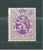 Belgique Timbre De 1929/32  N°281  Neuf * - Belgien