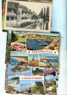 Lot De 150 Cartes De La Région Normandie - Cartes Postales