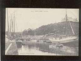 29 Pont Aven Le Port édit. Laurent N° 3145 Bateau De Pêche  Celui De Gauche 1er Plan Bateau De L'ile De Groix  Evelyne - Pont Aven