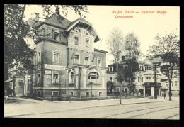 Weisser Hirsch - Bautzner Strasse Gemeindeamt / Postcard Not Circulated - Dresden