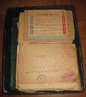 1 BOITE AVEC  300 LETTRES  / CARTE POSTALE GUERRE DE 1914/1918  France / Campagne Du Maroc RARE (91) - Sammlungen