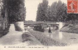 Bâteaux - Péniche Transport Bois - Canal - Péniches