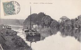 Bâteaux - Péniche Sur L'Oise à Auvers - Péniches