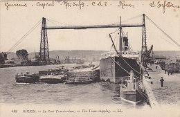 Bâteaux - Péniches Paquebot Et Remorqueur - Pont Transbordeur Rouen - Péniches