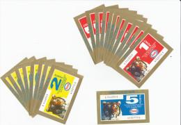 France Collection Esso Remis Pour L´achat De Carburant Lot De 11 X 1 Point +8 X 2 Points + 1 X 5 Point Très Bon état - Publicités