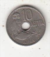 GREECE - Owl, Coin 10 Lepta, Edition 1912 - Grèce