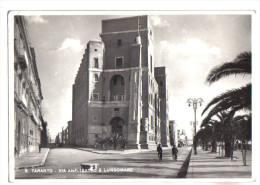 Taranto, Via Anfiteatro E Lungomare - F.G. - Anni 1940 - Taranto