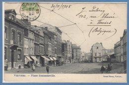 BELGIQUE -- VERVIERS -- Place Sommeleville - Verviers