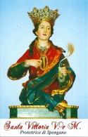 S. VITTORIA V. E M. - SPONGANO - M  - PR - Religion &  Esoterik
