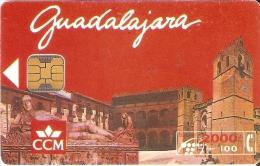 CP-048 TARJETA DE LA PROVINCIA DE GUADALAJARA DE 2000PTAS TIRADA 3000 - Spanien