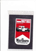 Marlboro - 1983 - Monaco - Automovilismo - F1