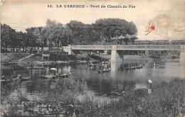 VAL DE MARNE  94   LA VARENNE   PONT DU CHEMIN DE FER - France