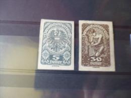 AUTRICHE TIMBRE OU SERIE YVERT  N° 207**+211* - 1918-1945 1. Republik