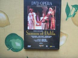 DVD Opera Collection Samson Et Dalila Placido Domingo Shirley Verrett Wolfang Brendel Edizione Del Prado - Concerto E Musica