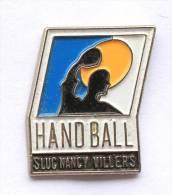 Pin's Handball - SLUC NANCY VILLERS (54) -  E390 - Handball