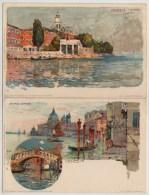 4 X ART PC,BY MANUEL WIELANDT, RIO S.SOFIA, S.TROVASO,S.LAZZARO,CANALE GRANDE,VENEZIA, - Venezia (Venedig)