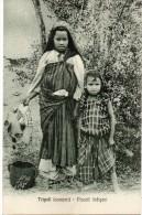 Tripoli ( Cosumi )piccoli Indigeni - Libye