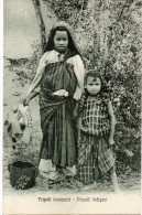 Tripoli ( Cosumi )piccoli Indigeni - Libia