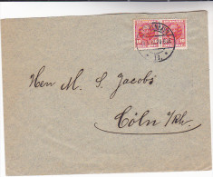 1912 DENMARK Multi Stamps COVER - 1905-12 (Frederik VIII)