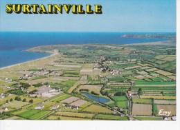 SURTAINVILLE (50-Manche), Vue Générale,Falaise Du Pou, Anse De Sciotot, Ed. Le Goubey Vers 1980 - Autres Communes