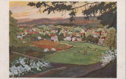 Obernigk - Nach Original Des Kunstmalers  Van Hout - Ca. 1955 - Schlesien