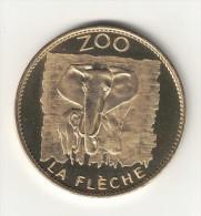 Medaille Arthus Bertrand 72.La Flèche - Le Zoo éléphant 2007 - Arthus Bertrand