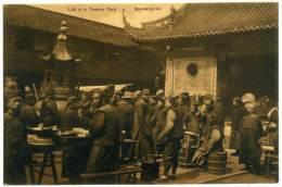 XCIN.26  SHANGHAI  - Life In A Temple Yard - China