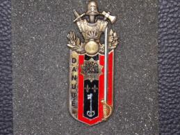 "Insignes Militaire "" PROMOTION ELEVE OFFICIER DE RESERVE "" Military Badges ""Reserve Officer"" - RARE - Army"