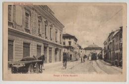 PC, BORGO E PORTA MAZZINI,TREVISO, SALUTO DA TREVISO, ITALY - Treviso