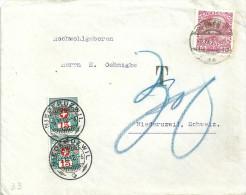 Taxierter Brief  Wien - Niederuzwil            1912 - Suisse