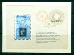 MAURITIUS 1979 Mi BL 11** 100th Anniversary of the Death of Sir Rowland Hill [A3234]